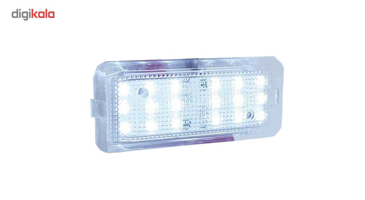 چراغ صندوق و داشبورد پژو مدل تک لایت main 1 3