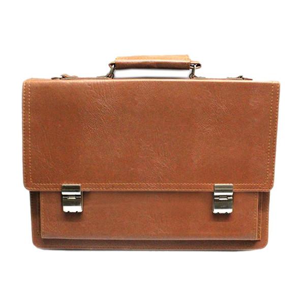کیف اداری مردانه چرم بلوط کد eb010