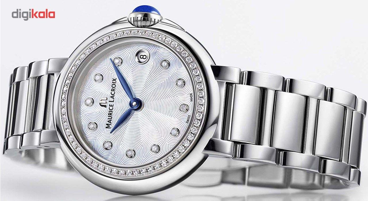 ساعت مچی عقربه ای زنانه موریس لاکروا مدل FA1003-SD502-170-1 -  - 4