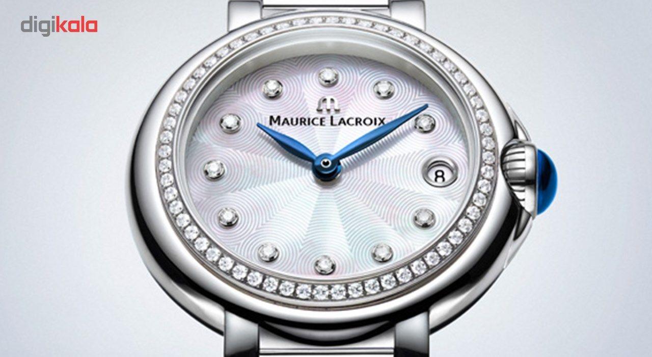 ساعت مچی عقربه ای زنانه موریس لاکروا مدل FA1003-SD502-170-1 -  - 3