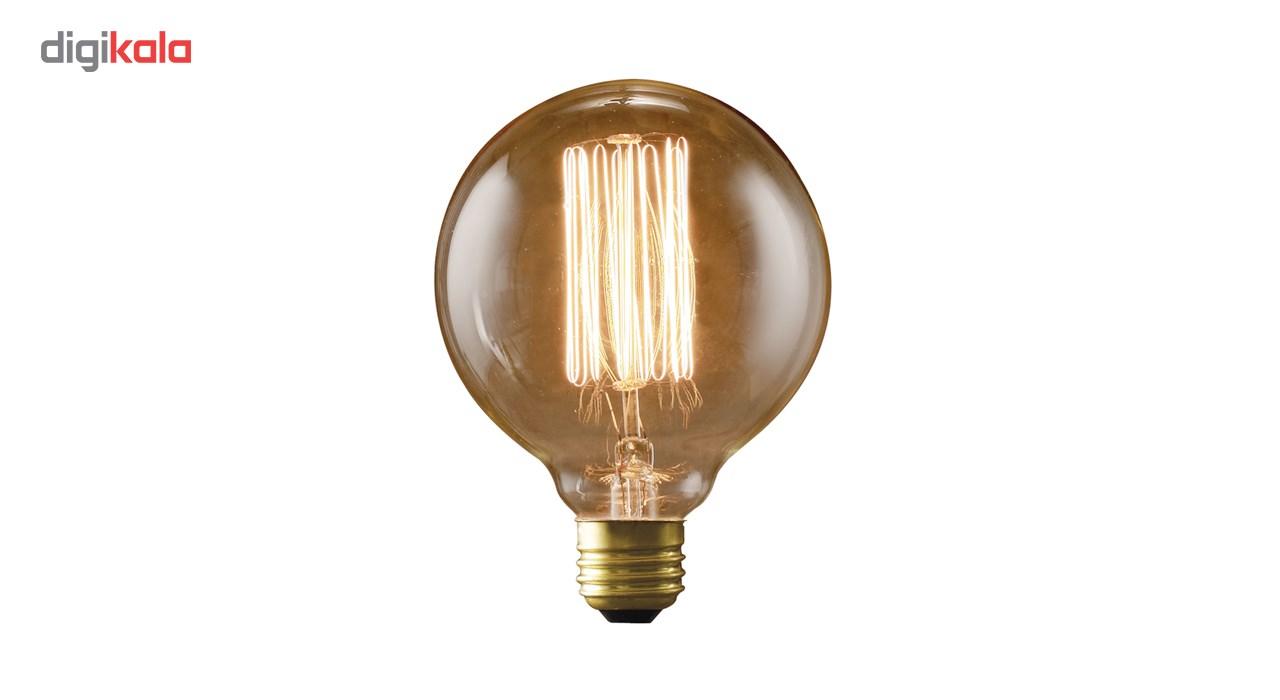 لامپ فیلامنتی انگاره مدل G125  خطی پایه E27
