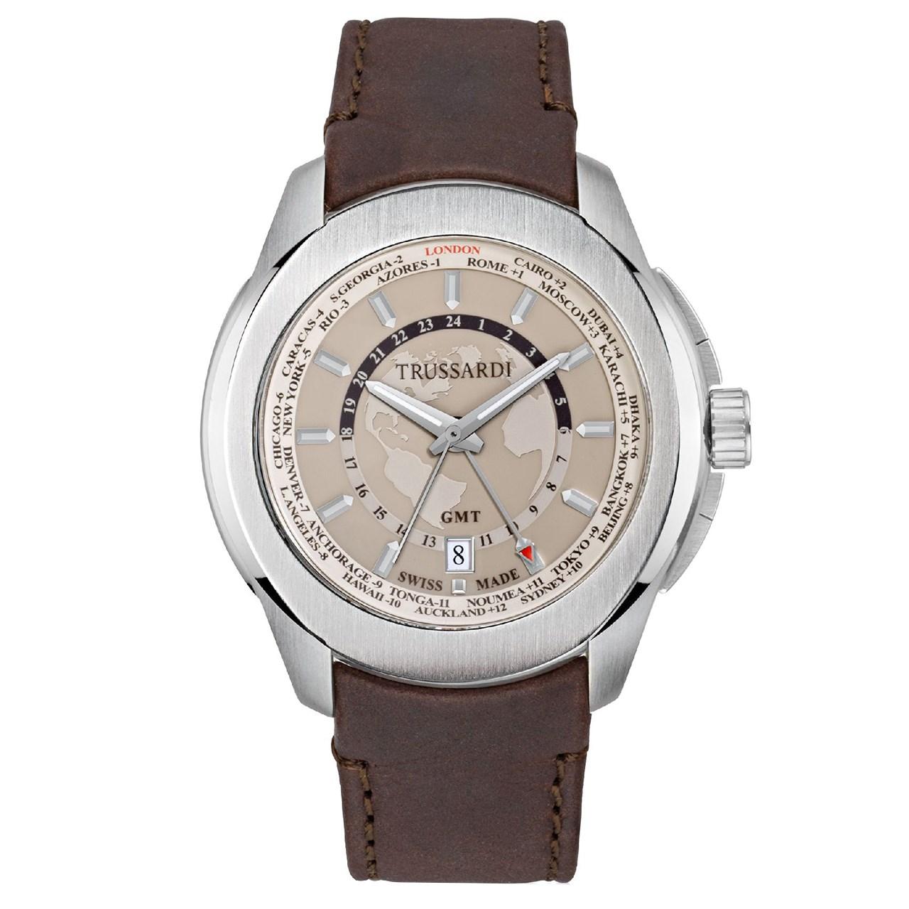 ساعت مچی عقربه ای مردانه تروساردی مدل TR-R2451100001