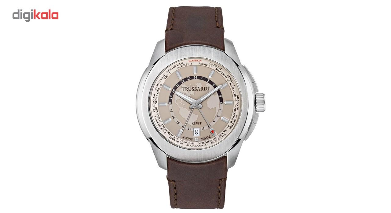 خرید ساعت مچی عقربه ای مردانه تروساردی مدل TR-R2451100001