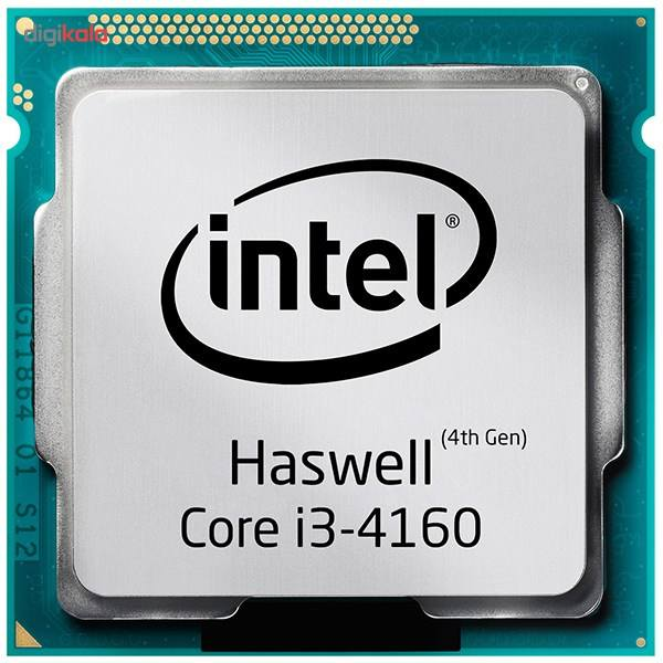 پردازنده مرکزی اینتل سری Haswell مدل Core i3-4160 main 1 1