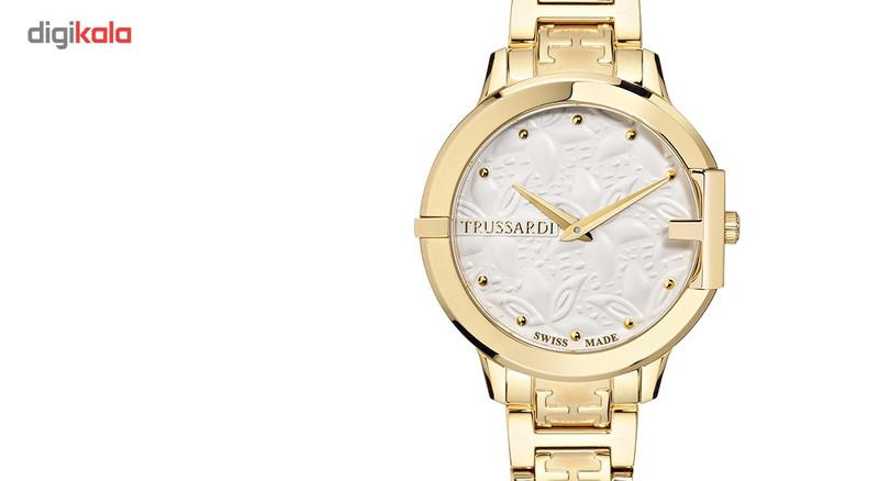 ساعت مچی عقربه ای زنانه تروساردی مدل TR-R2453114501