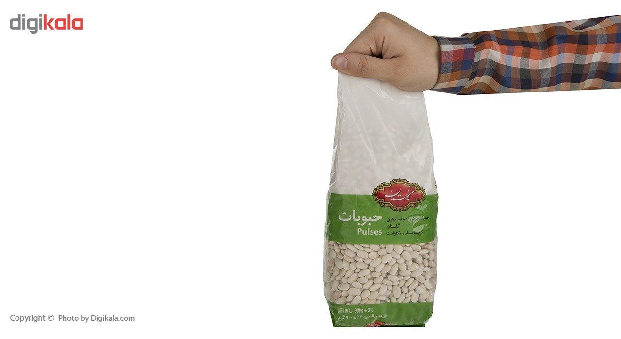 لوبیا سفید گلستان مقدار 900 گرم main 1 4