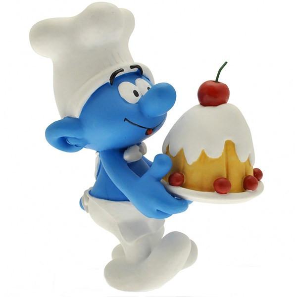 عروسک اسمورف آشپز پلستوی کد 00166 سایز 1