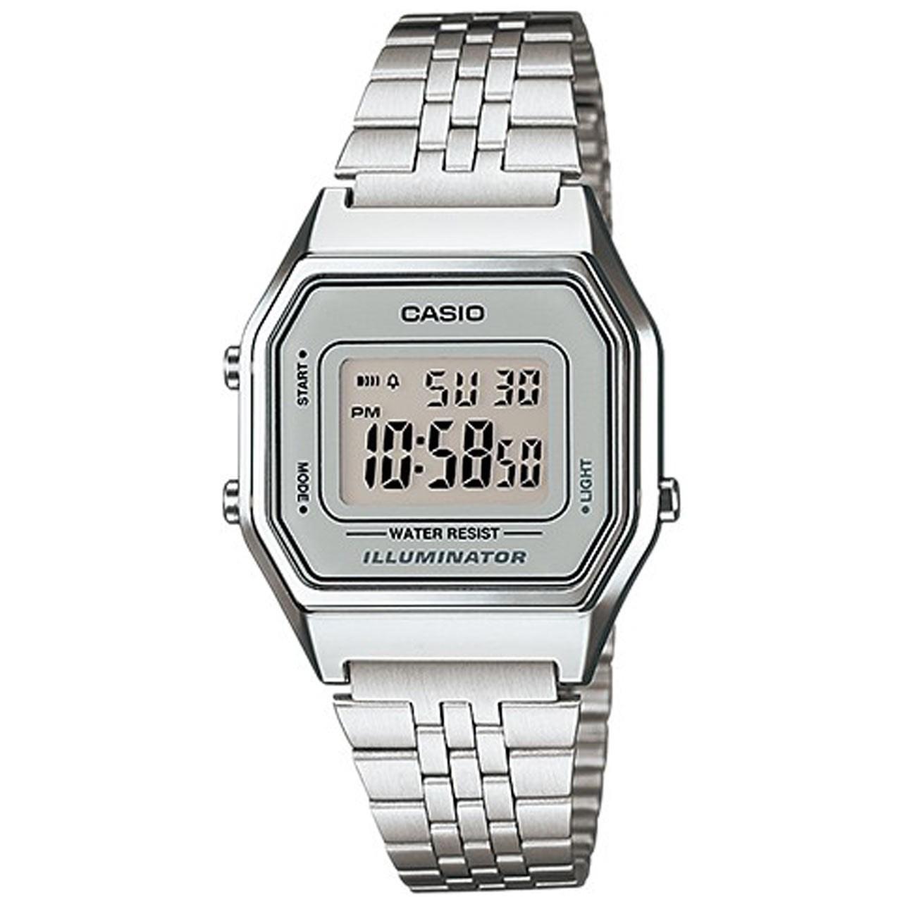 ساعت مچی دیجیتالی زنانه کاسیو مدل LA680WA-7DF