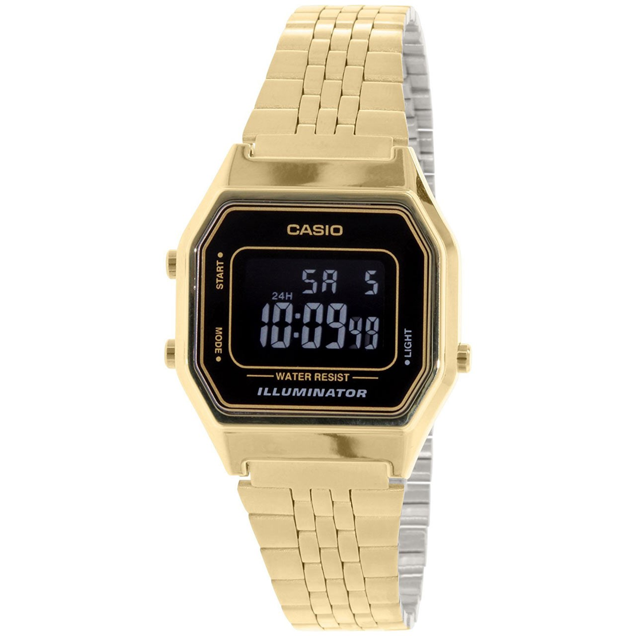 ساعت مچی دیجیتالی کاسیو مدل LA680WGA-1BDF