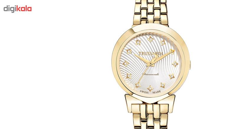 ساعت مچی عقربه ای زنانه تروساردی مدل TR-R2453105501