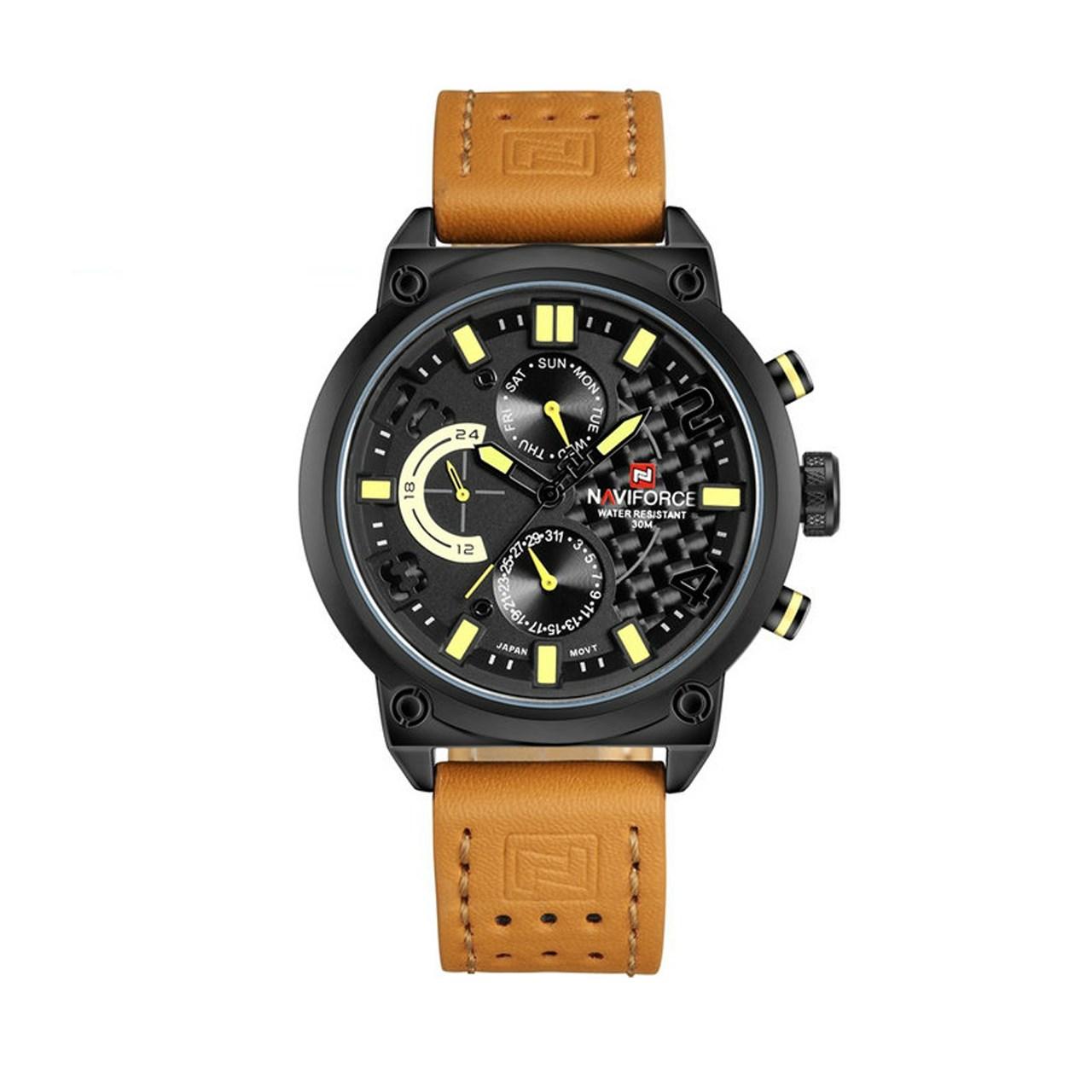 ساعت مچی عقربه ای مردانه نیوی فورس مدل NF9068M/BBY