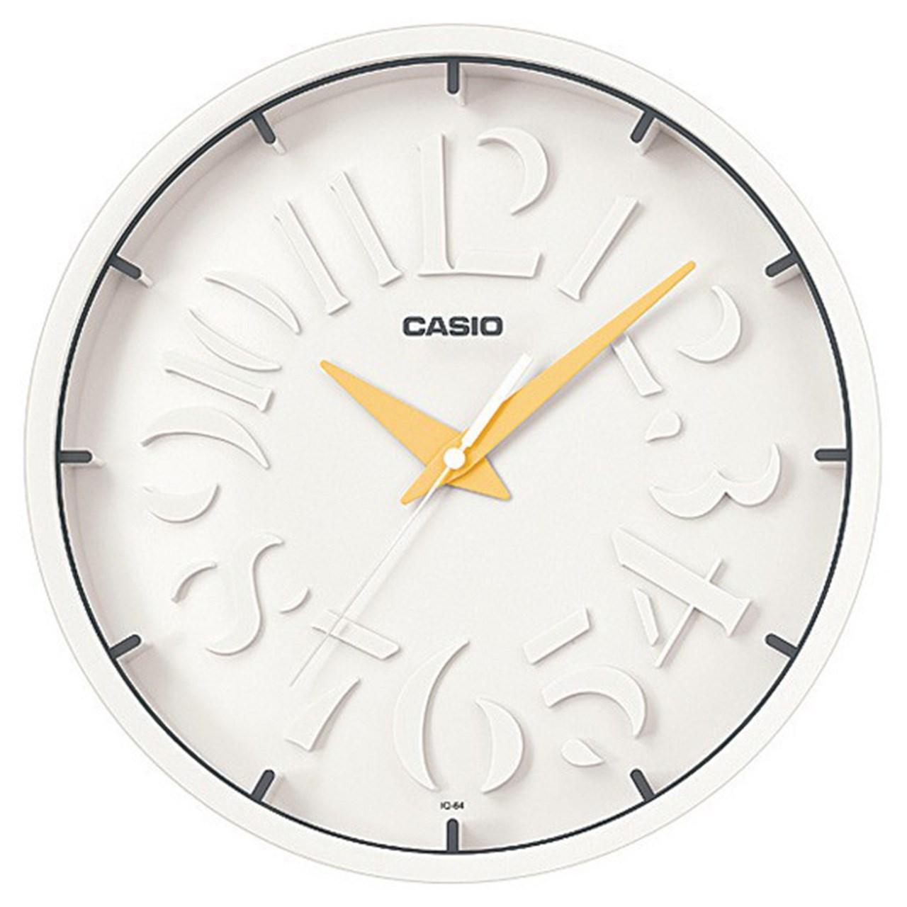 خرید ساعت دیواری کاسیو مدل IQ-64-9DF