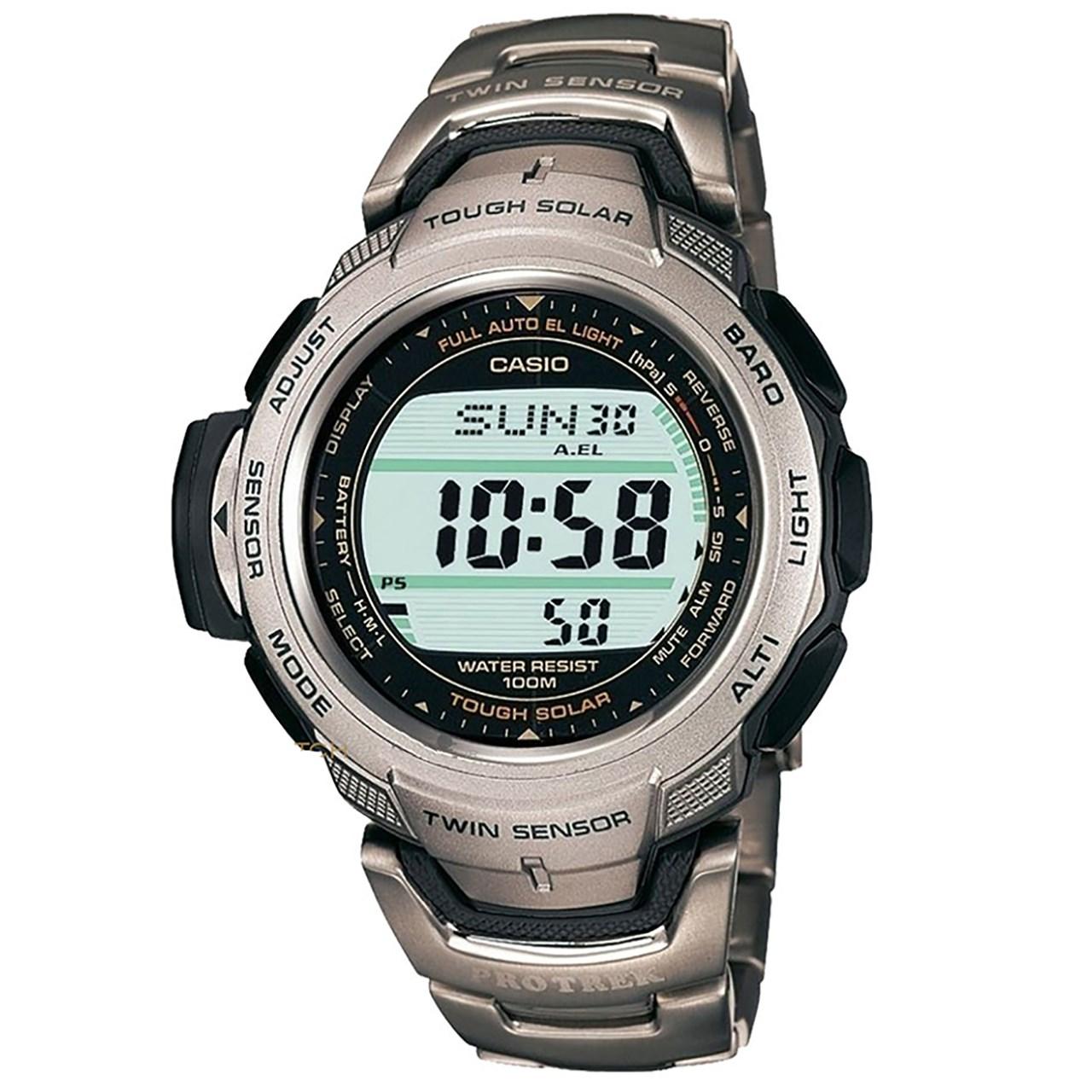 ساعت مچی دیجیتالی  مردانه  کاسیو پروترک مدل PRG-110T-7VDR 36