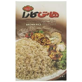 برنج قهوه ای هاتی کارا مقدار 900 گرم