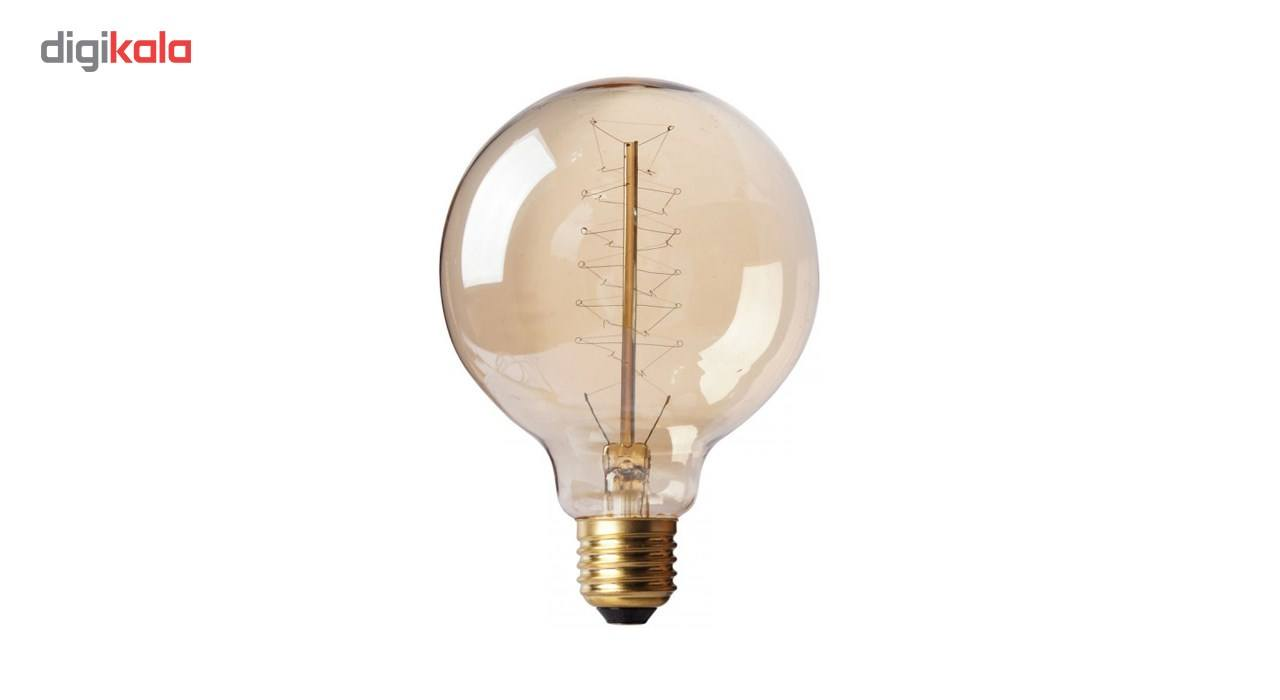لامپ فیلامنتی انگاره مدل G125  پیچی پایه E27 main 1 1