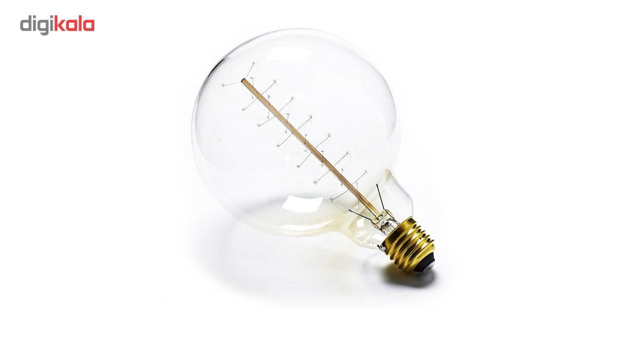 لامپ فیلامنتی انگاره مدل G125  پیچی پایه E27 main 1 2