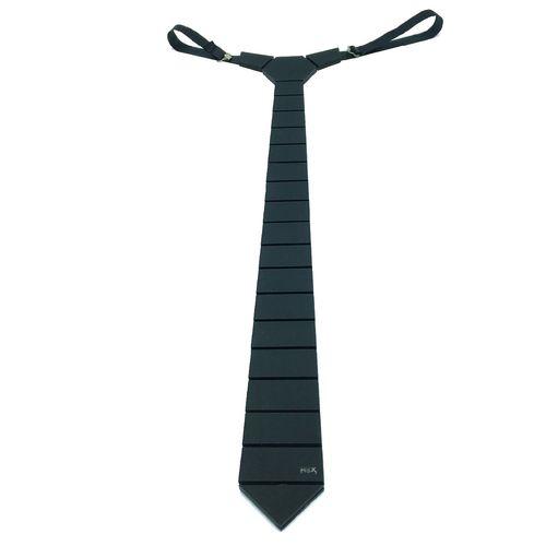 کراوات مدرن هکس ایران مدل HEX-Simple Blk Mate