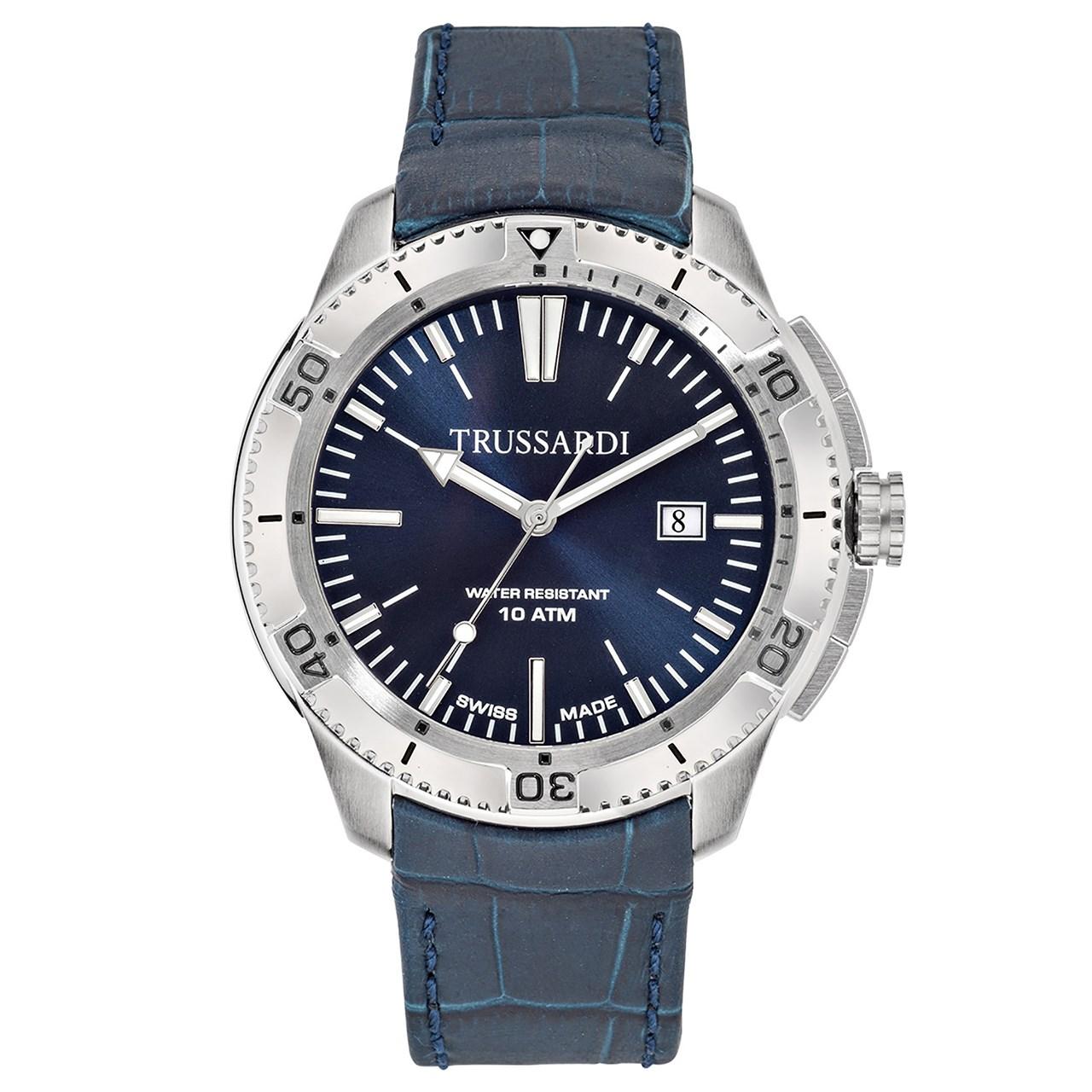ساعت مچی عقربه ای مردانه تروساردی مدل TR-R2451101002