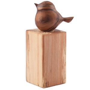 مجسمه چوبی طرح پرنده گالری چوبت کد 114015