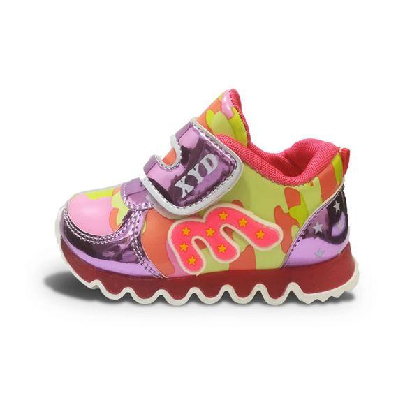 کفش مخصوص دویدن بچه گانه XYD مدل چراغدار