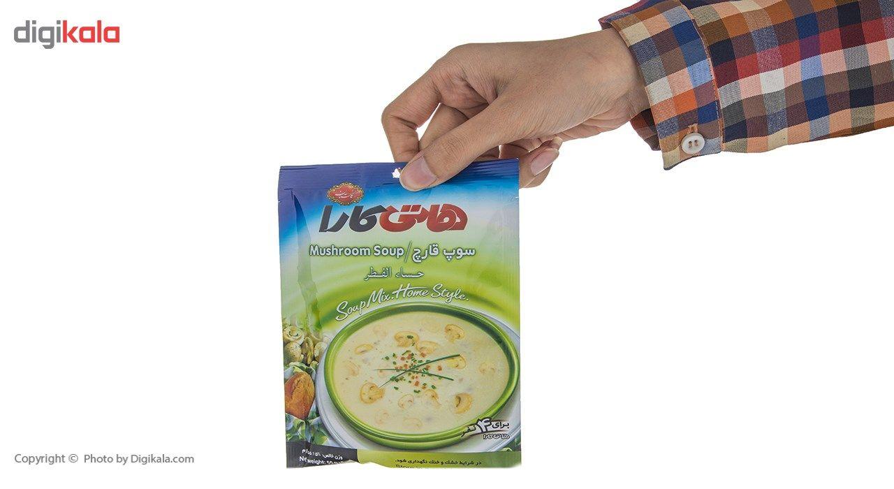 سوپ نیمه آماده قارچ هاتی کارا مقدار 55 گرم main 1 7