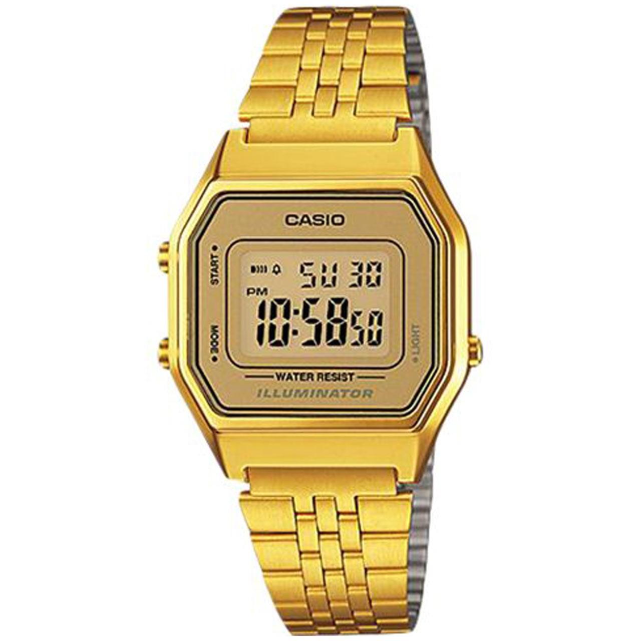 ساعت مچی دیجیتالی زنانه کاسیو مدل LA680WGA-9DF