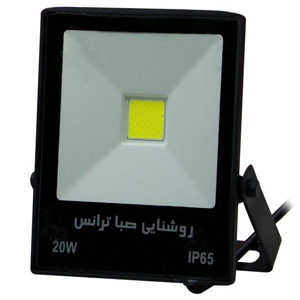 پروژکتور ال ای دی 20 وات روشنایی صباترانس مدل CB