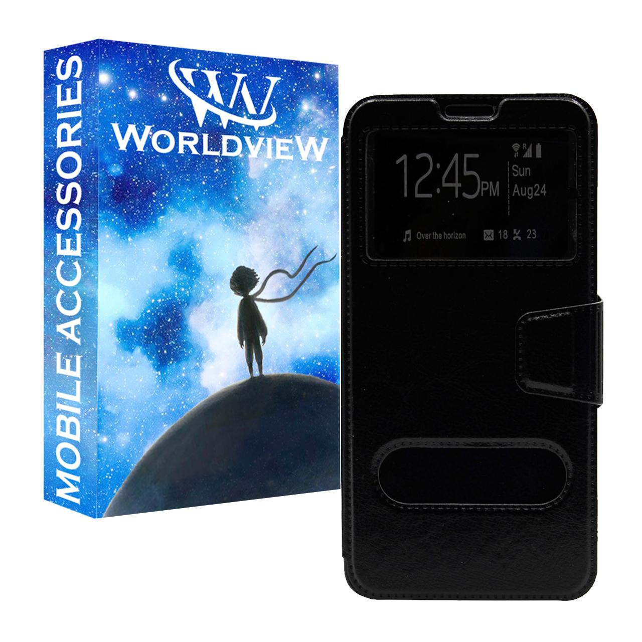 کیف کلاسوری ورلد ویو مدل WKFJ-2 مناسب برای گوشی موبایل سامسونگ Galaxy A20/A30/M10S