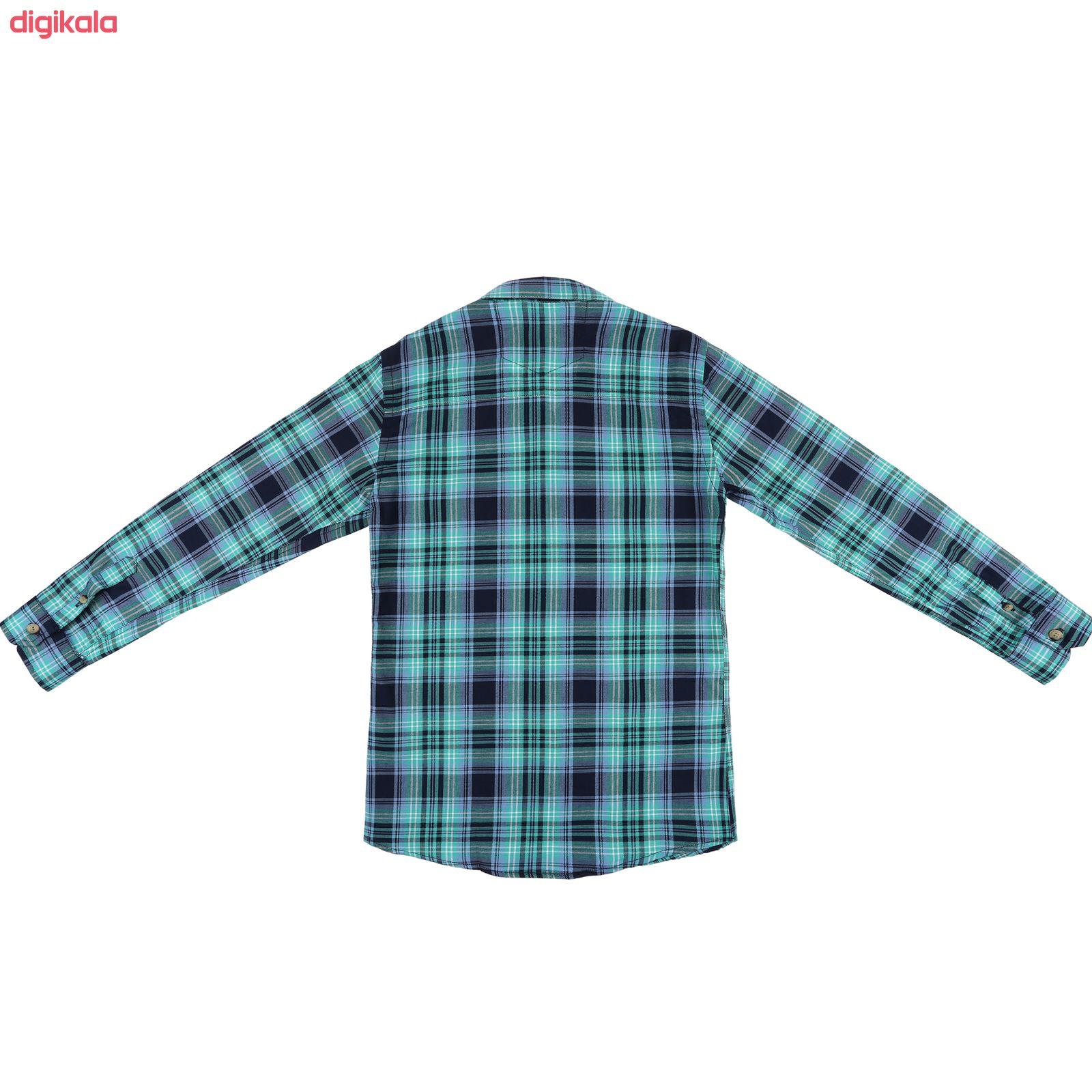 پیراهن پسرانه ناوالس کد R-20119-GN main 1 2