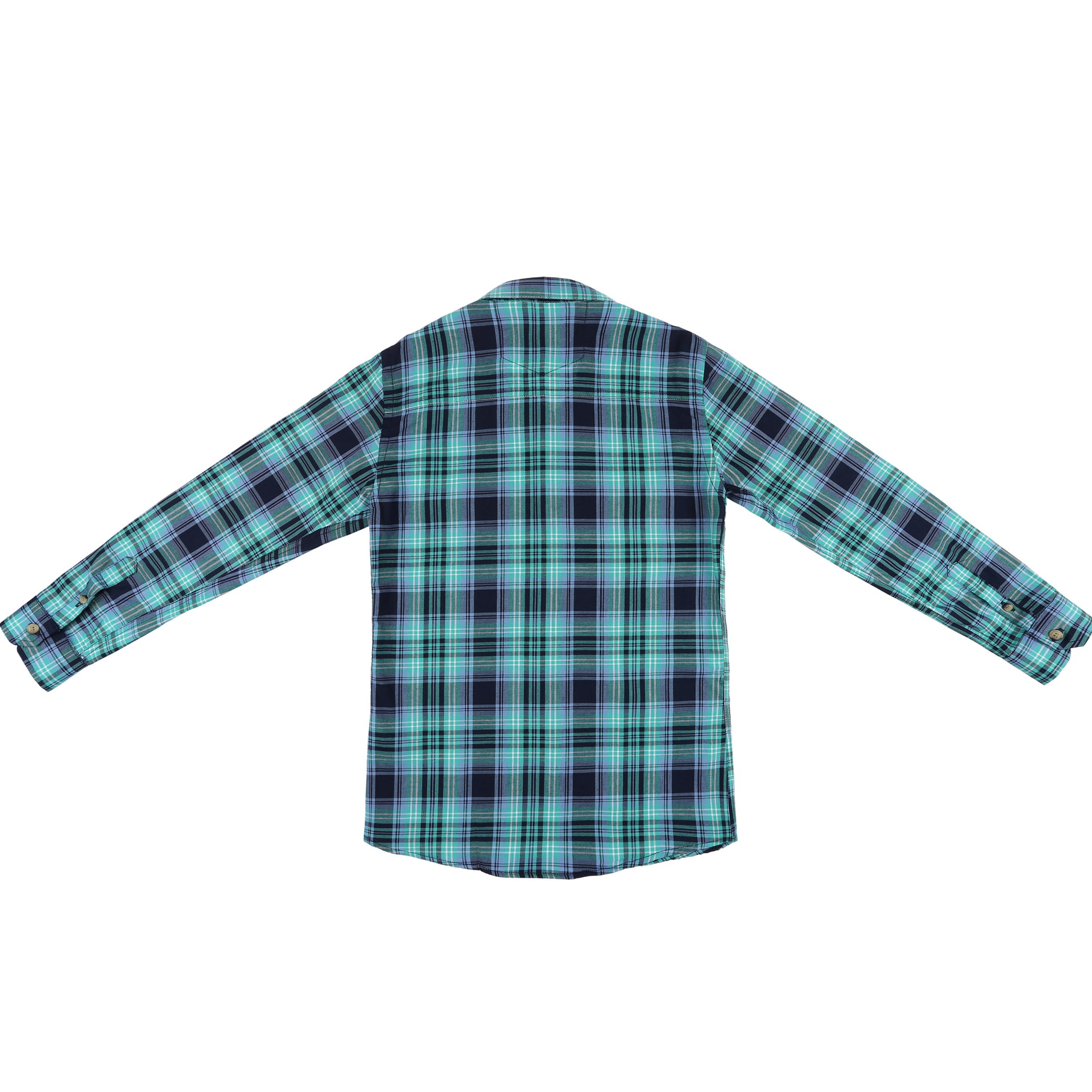 پیراهن پسرانه ناوالس کد R-20119-GN thumb 2