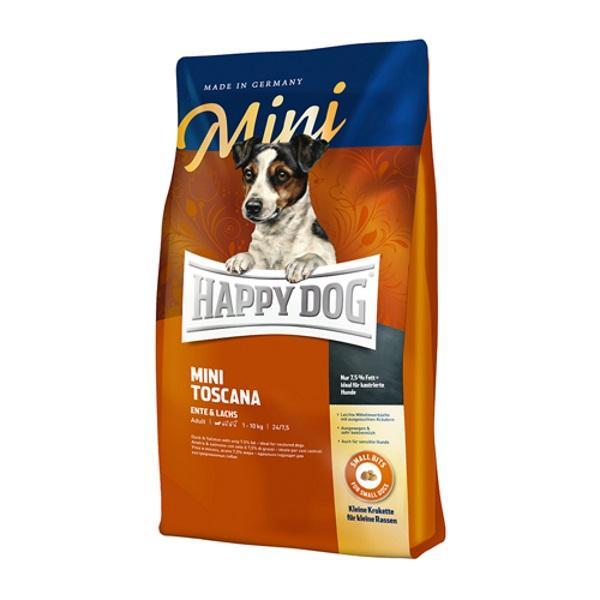 غذای خشک سگ هپی داگ مدل Mini Toscana وزن 1 کیلوگرم