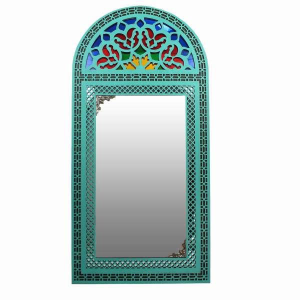 آینه دست نگار طرح پنجره سنتی کد 03-20