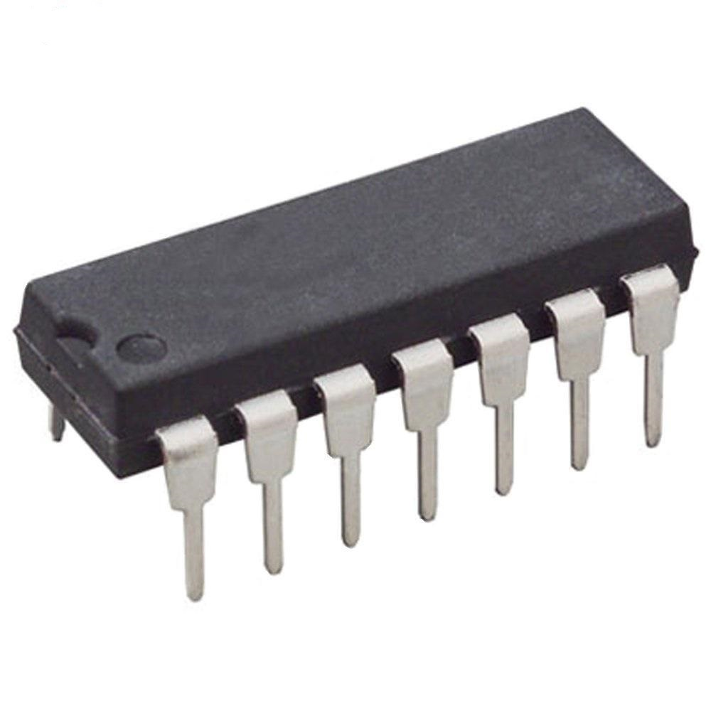 آی سی CMOS مدل CD4011BE