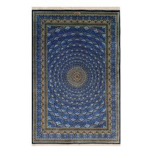 فرش دستبافت سه و نیم متری قم ابوالفضل بهی کد 120