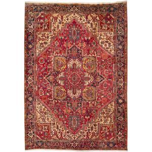 فرش قدیمی دستباف نه متری سی پرشیا کد 187343