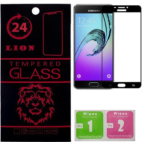 محافظ صفحه نمایش شیشه ای لاین مدل 3D Full Cover مناسب برای گوشی سامسونگ A510/ A5 2016