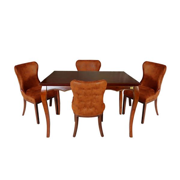 میز و صندلی ناهار خوری چوبکو مدل 672_4