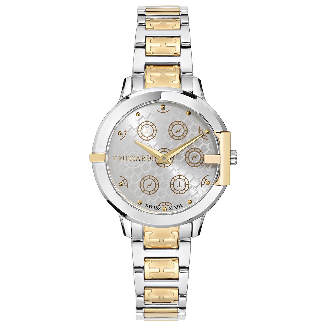 ساعت مچی عقربه ای زنانه تروساردی مدل TR-R2453114504 55