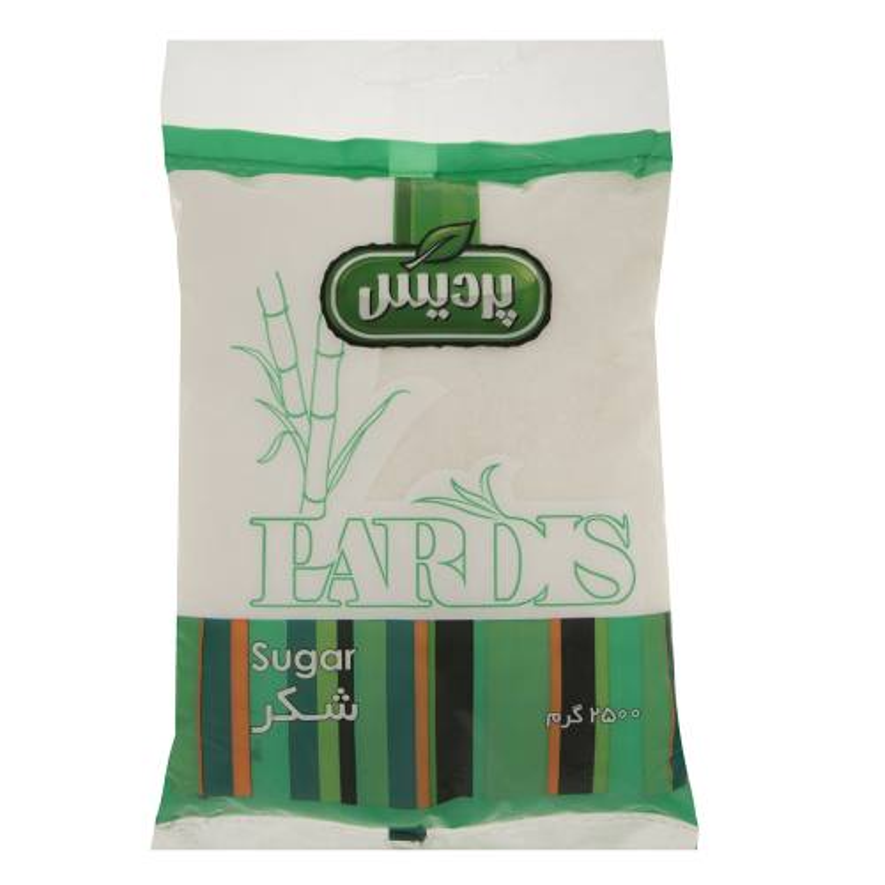 شکر سفید پردیس مقدار 2500 گرم
