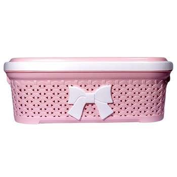 سبد رخت بروفه مدل Slim-pink