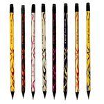 مداد مشکی یالانگ طرح رعد بسته 8 عددی thumb