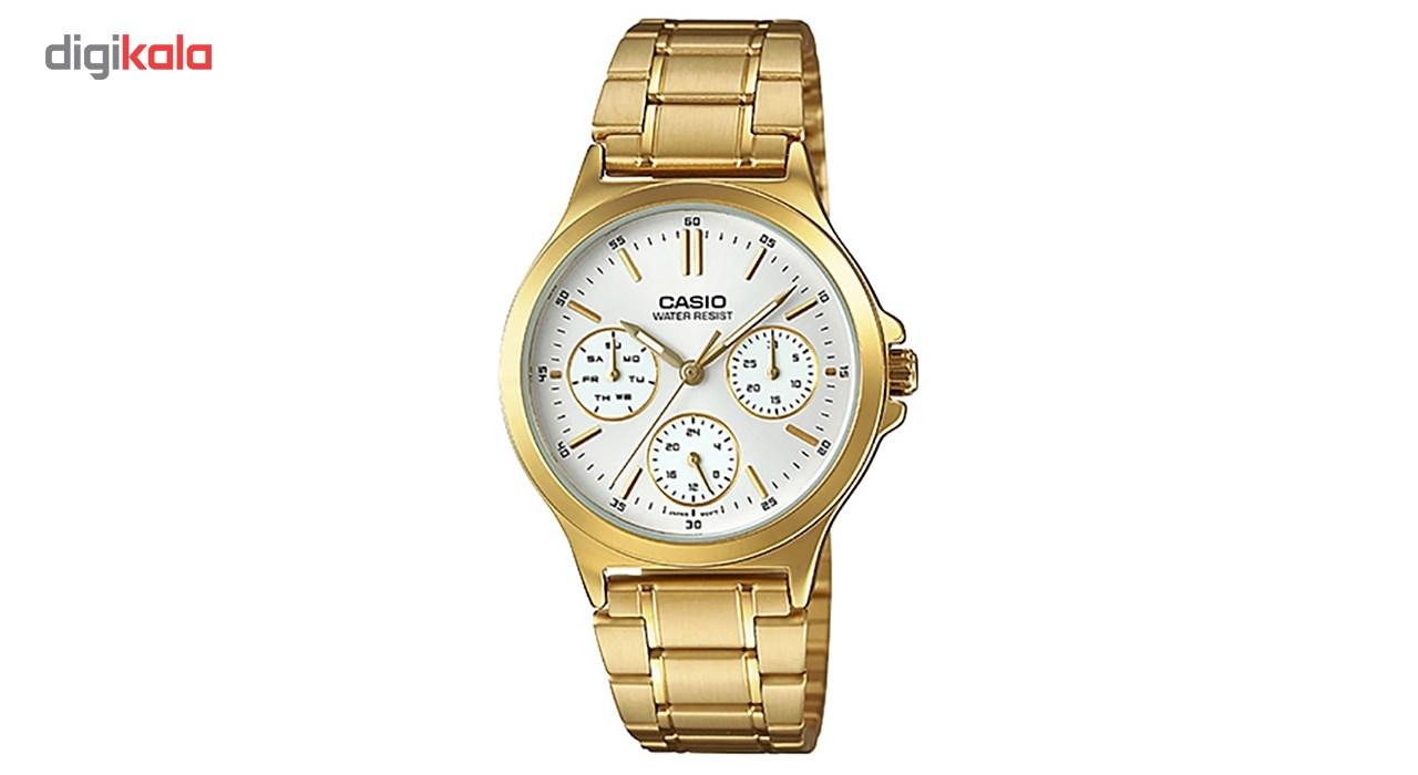 ساعت مچی عقربه ای زنانه کاسیو مدل LTP-V300G-7AUDF              خرید (⭐️⭐️⭐️)