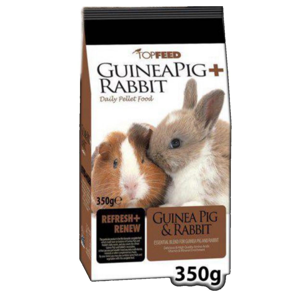 غذای خرگوش و خوکچه هندی تاپ فید مدل Daily Pellet وزن 0.35 کیلوگرم