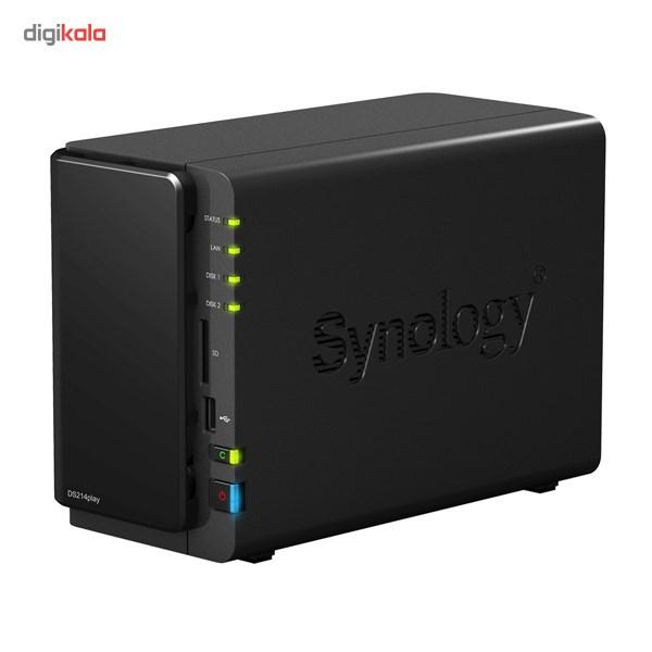 ذخیره ساز تحت شبکه 2Bay سینولوژی مدل دیسک استیشن DS214 پلی