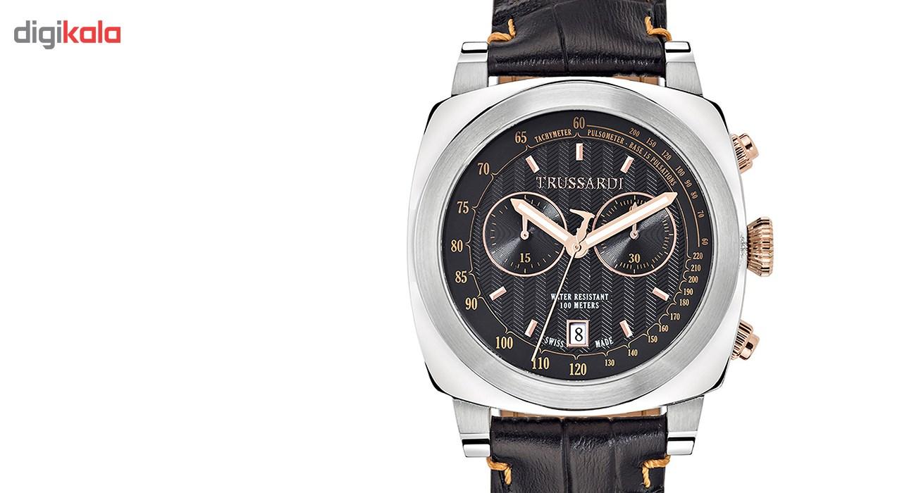 خرید ساعت مچی عقربه ای مردانه تروساردی مدل TR-R2471602001
