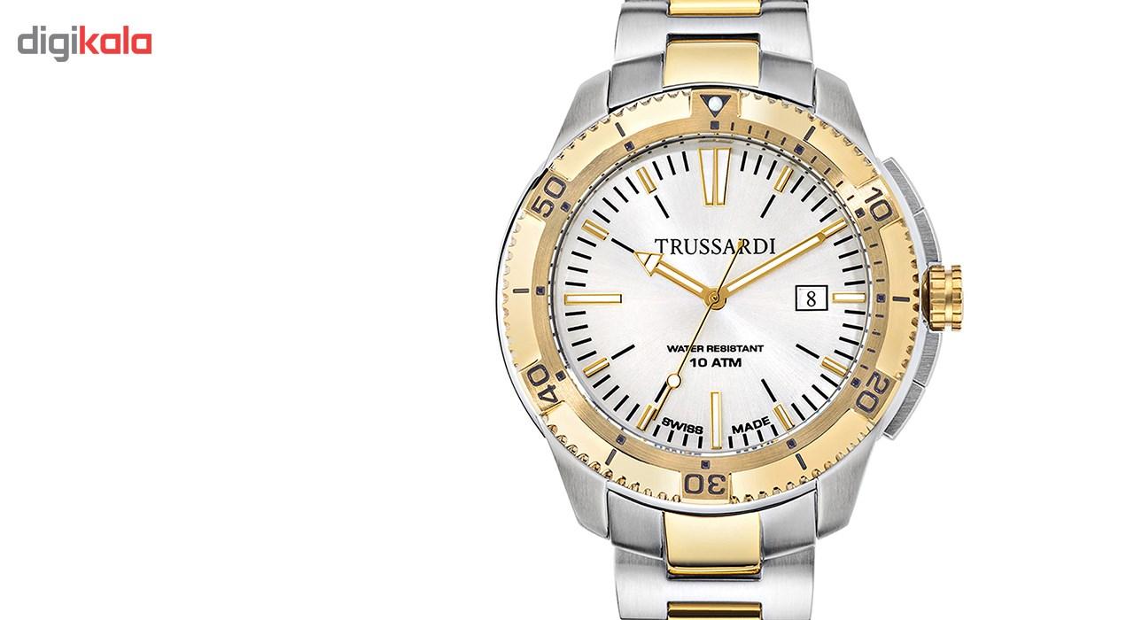 ساعت مچی عقربه ای مردانه تروساردی مدل TR-R2453101001