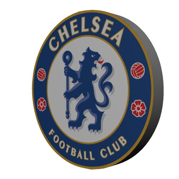استیکر چوبی  چلسی بانیبو مدل Chelsea