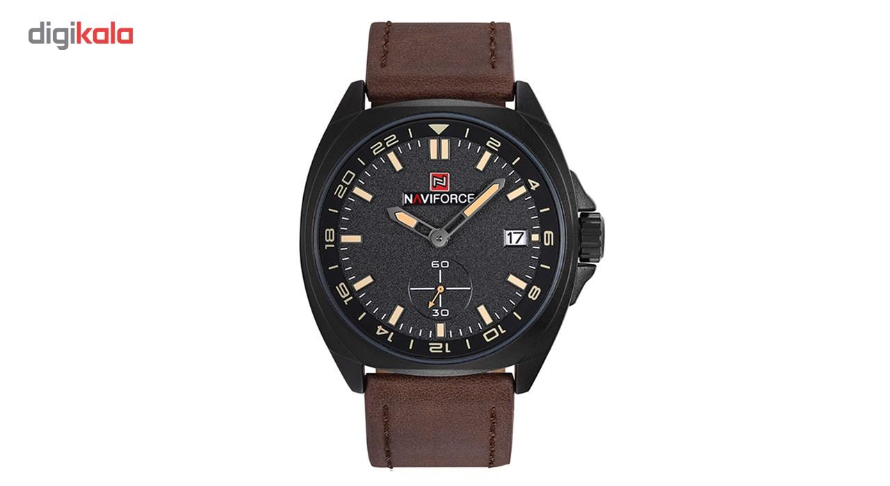 خرید ساعت مچی عقربه ای مردانه نیوی فورس مدل NF9104M/BBGY