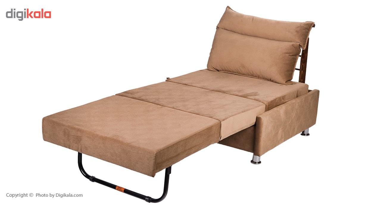 مبل تخت خواب شو یک نفره سانلی مدل مارس