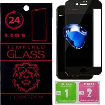 محافظ صفحه نمایش شیشه ای لاین مدل 3D Full Cover مناسب برای گوشی اپل آیفون 7 پلاس